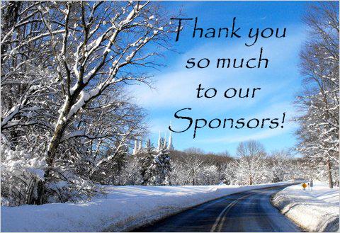Driftbusters Thank their sponsors